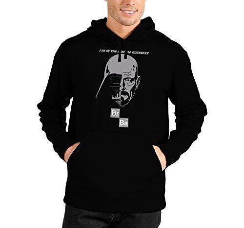 Felpa con cappuccio I'm in the empire business - Breaking Bad - Heisenberg - Walter White - parody - humor - serie tv - in cotone Nero