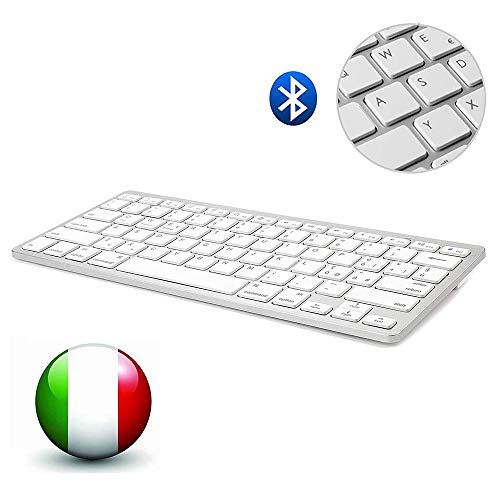 D DINGRICH Italiano Tastiera Bluetooth, IOS Mac...