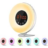 Wake Up Licht - Queta Lichtwecker Sonnenaufgang Wecker für Kinder Aufwachen Licht USB Wecker Licht mit Sonnenaufgang... preisvergleich bei billige-tabletten.eu