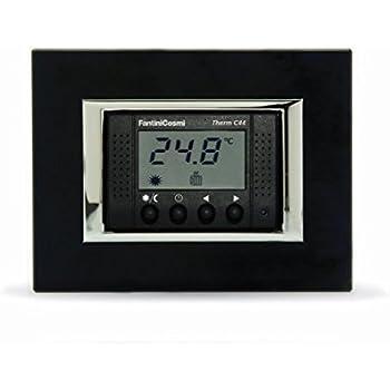 Fantini cosmi ch121 termostato retroilluminato da incasso for Termostato fantini cosmi c48 prezzo