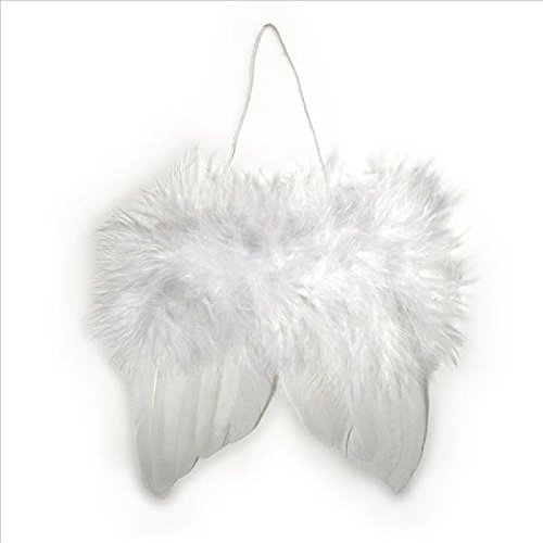 VBS 2 Engelsflügel Flügel Anhänger Engel basteln Set Feder (Verschiedene Arten Von Engel Kostüm)