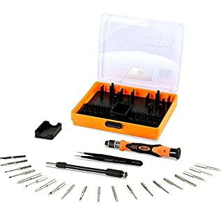 ALLIMITY Repairing Tool Kits 23 in 1 Deep Screw Hole Screwdriver Set for iPhone iPad Smartphones Tablet Notebook MacBook Electronics Home Appliances