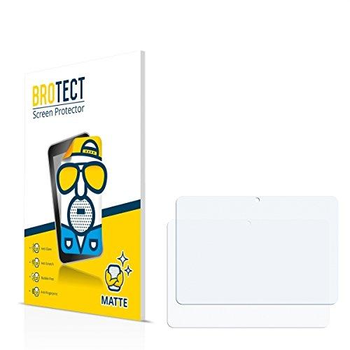 2X BROTECT Matt Bildschirmschutz Schutzfolie für TrekStor SurfTab Breeze 10.1 Plus (matt - entspiegelt, Kratzfest, schmutzabweisend)