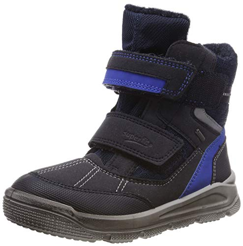 Superfit Jungen Mars Schneestiefel, Blau/Blau, 30 EU