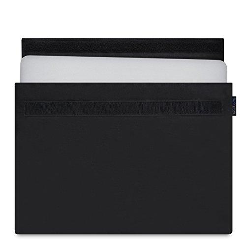 Adore June 13,3 Zoll Hülle Classic Schwarz für Apple MacBook Pro 13 2016-2018 Laptop-Tasche aus widerstandsfähigem Stoff für MacBook Pro 13 mit & ohne Touchbar - Schutzhülle für Tablet (33 cm) -