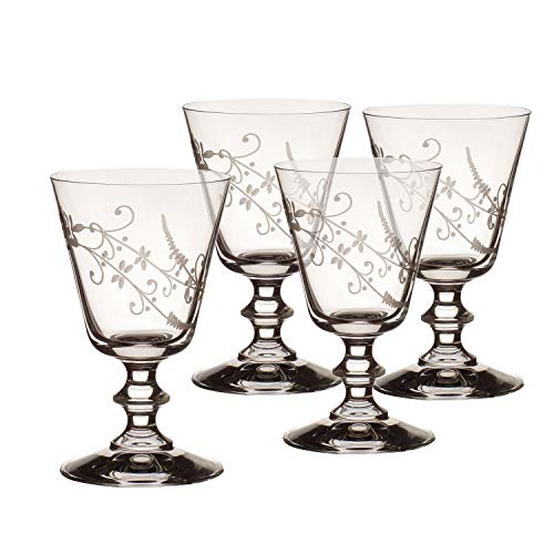 Villeroy & Boch Vieux Luxembourg Rotweinglas, 4er-Set, 240 ml, Kristallglas, Klar Boch Bouquet