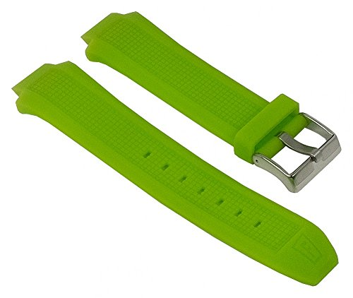 Festina Ersatzband Uhrenarmband Kautschuk Band Grün für F16559/4 F16559 F16560