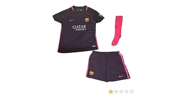 ac9b17c1e Nike FC Barcelona Little Kids Away Kit  Amazon.co.uk  Sports   Outdoors
