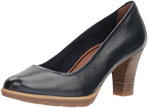 Tamaris Damen 22425 Pumps Blau (Navy)
