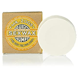 Sex Wax Surf Wax Quick Humps yellow Extreme Soft
