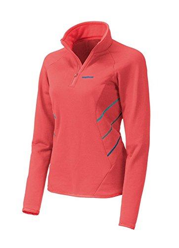 Trango Damen Pullover DARYA, 8433849344240 Rot/Koralle/Blau