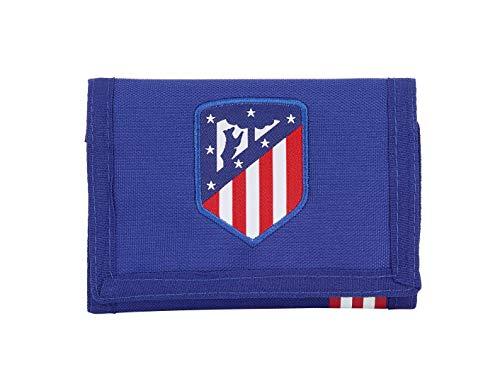 """Atlético de Madrid \""""In Blue\"""" Oficial Cartera Billetera"""