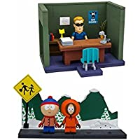 Mc Farlane - Jeu de Construction South Park - Mini Set Serie 1 - 0787926128758