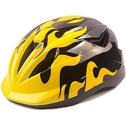 Athyior Casco Bicicleta niño Ciclismo Seguridad Helmet Casco Bici Ajustable 50-54cm para 4-12 años para Ciclo patineta Scooter Patinaje Rodillo Blading