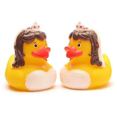 Duckshop I Badeente lesbisches Brautpaar I Quietscheentchen I Quietscheente
