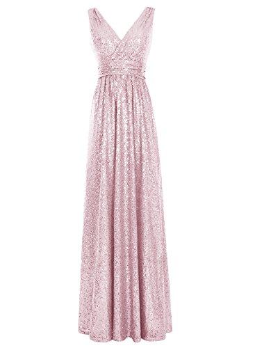 Bbonlinedress Damen Modern Cocktail-kleider Schnürung Party Kleider Abendkleider Pink
