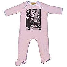 Elvis La Pelvis Body y gorro para bebé Rosa