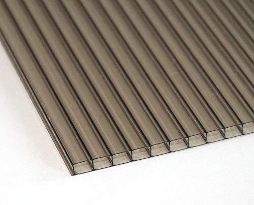 Stegplatte 6mm Bronze für Terrasse | Carport 725 mm x 1325 mm - Wunschmaße auf Anfrage
