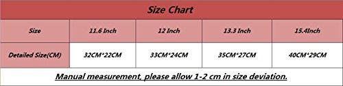 YiJee Universale Laptop Custodia Borse Handbag Accessorio Bag Per PC Portatili 11.6 Pollice Blu Chiaro 1