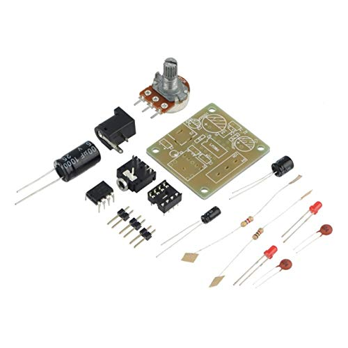 LM386 DIY Mini Amplificador Módulo de Tarjeta de Alto Rendimiento 3V-12V Módulo Amplificador de Audio Compacto Accesorios Electrónicos Azul