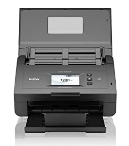 Brother ads 2600w wireless document scanner with duplex for Best duplex document scanner