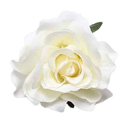 Haarspange mit Rosen-Blume, für Hochzeit, Brautjungfer, Prinzessin, Party-Zubehör