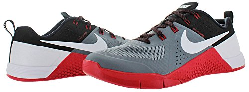 Nike Mens Metcon 1 Synthetic Trainers Grey Black