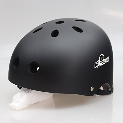 Matry Outdoor Sport Airflow Bike Helm für Road & Mountain Biking Wandern - Sicherheit Zertifizierte Fahrradhelme für Erwachsene Männer & Frauen, Teen Jungs & Mädchen Kids Jugend Verstellbare Sportschutz Gear Set Sicherheits-Pad Safeguard ( Color : Black , Size : L ) (Jacke Tex Nike Gore)