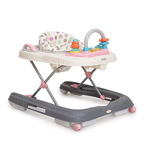 Lauflernhilfe Dotty 2 in 1 höhenverstellbar mit Spielcenter (Rosa)