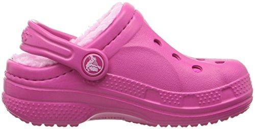 Crocs Crocswinterclgk, Sabots Mixte Enfant, Navy Electric Blue Rose (Candy Pink/carnation)