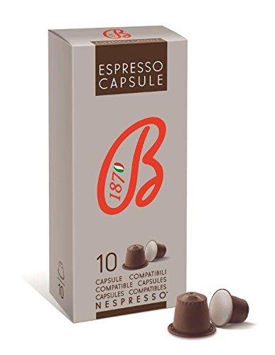 Caffè Barbera dal 1870 - Capsule Compatibili Nespresso® - Miscela Espresso - 60 Capsule Autoprotette