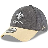 new concept caa19 552b3 New Era 39Thirty Cap - Sideline Graphite Orleans Saints