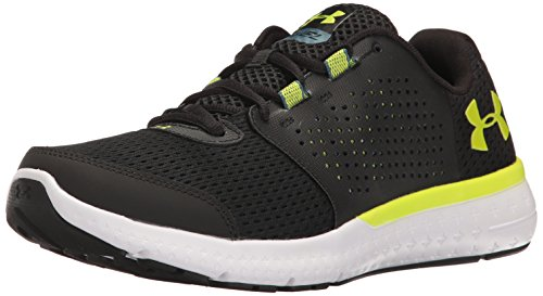 Under Armour Men's Micro G Fuel Running Shoes, Black/Velocity, for sale  Delivered anywhere in UK