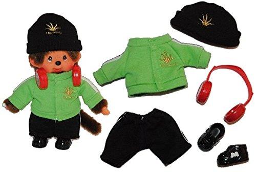 idung Monchhichi DJ Cool Kleidung Bekleidung Junge Monchichi (Kleine Mädchen-mode-boutique)