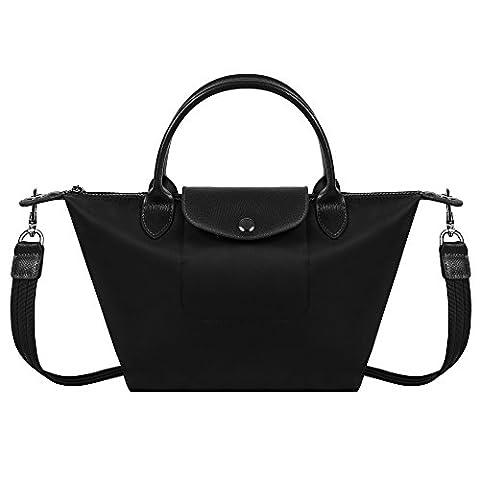 BEKILOLE , Damen Tote-Tasche Gr. Medium, schwarz