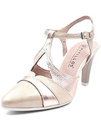 a79e1cc0636b1 Amazon.es  zapatos pitillos mujer - Hebilla   Zapatos de tacón ...