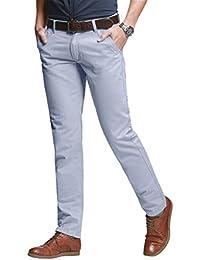 43ce92a54172a Match Slim Tapered Stretch Chino, Pantalon Homme  8050