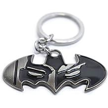 Bat Man Key Chain - Black and Grey Batman Superhero Key Chain