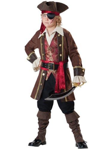Incharacter Piraten Kostüm - InCharacter - Pirat Seeräuberkostüm - 142-147cm