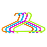 40 X CHILDRENS CLOTHES COAT PLASTIC HANGERS HANG BABY CHILD CHILDREN KIDS HANGING STORAGE