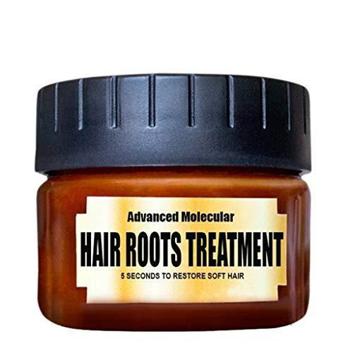 Bfmyxgs 60-120 Ml Hair Care Conditioner Essence Care Vermeidet Ranunculus Purc-Haarmasken-Conditioner Mit Bananengeschmack Brasilianisches Keratin, Das Haariges Haar Repariert