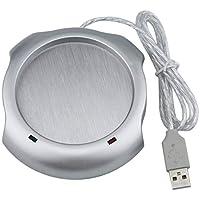 Mazur 4 Puerto USB Tea Coffee Cup Taza Warmer Calentador Pad Powered by Hub PC envío