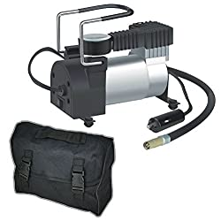 Likimen Home 12v 150psi Heavy Duty Deluxe Portable Metal Air Compressor Car Tyre Inflator