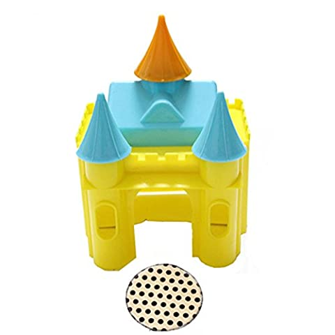 Emours Plastic Hamster Castle Hideout Small Animal