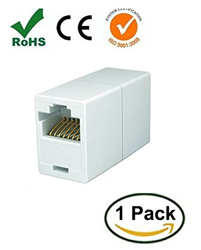 iMBAPrice IC-C5-Coupler-1 Ethernet-Kabel, 1 Stück, weiß, Stück: 1 (Extender C5)