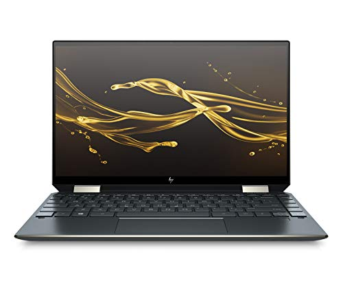 HP Spectre x360 Core i5 10th Gen 13-inch FHD Touchscreen Laptop (8GB/512 GB SSD/Windows 10/MS Office 2019/Nightfall Black/1.27 kg), 13-aw0204TU