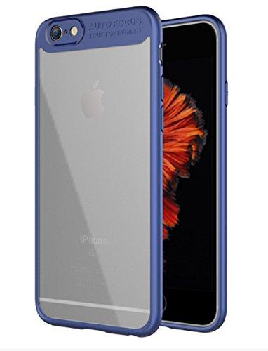 iPhone 6s Plus Hülle, iPhone 6 Plus Hülle?iPhone 6s Plus Case, Roreikes PC + TPU ultra thin [Perfekt in der Passform] schwer schützen Telefon-Shell neue stoßdämpfung wieder transparent stoßstange Anti-Fingerabdruck, Anti-Scratch Cover ?Schutzhülle für das iPhone 6 Plus/6S Plus(5.5Zoll)