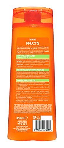 Garnier Fructis Champú Adios Daños   360 ml   [pack de 3]