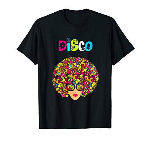 Disco Kostüm Mädchen Königin - Disco King 70er Jahre Vintage Dance Party Geschenk T-Shirt