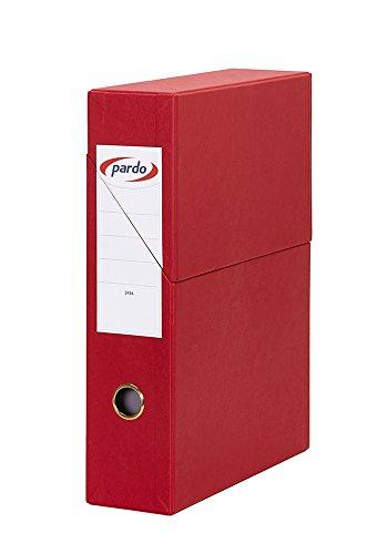 Pardo 879493 - Cajetín archivador 80 mm